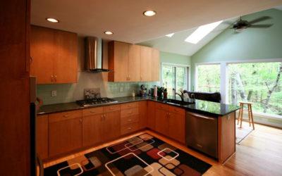 Sleek Modern Design with Sunroom
