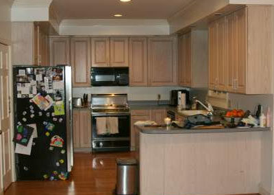 Before Image of Kitchen Renovation