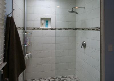 large shower in Bath Renovation
