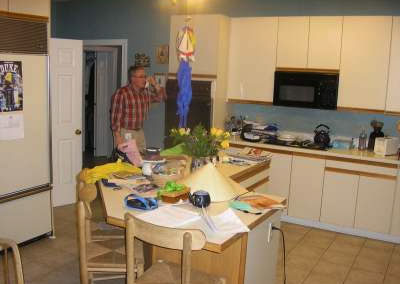 Poor quality kitchen layout